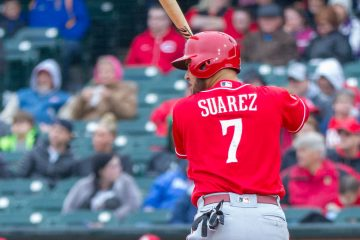 Eugenio Suarez (Photo: Doug Gray)