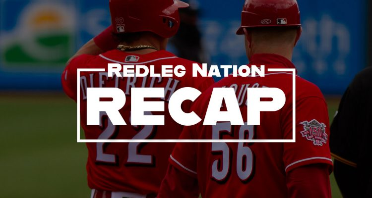 Redleg Nation Game Recap Derek Dietrich JR House