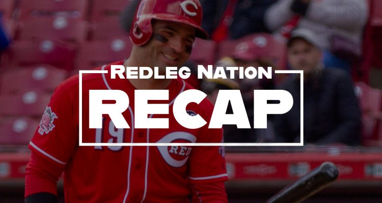 Redleg Nation Game Recap Joey Votto