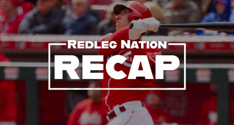 Redleg Nation Game Recap Michael Lorenzen Hitter