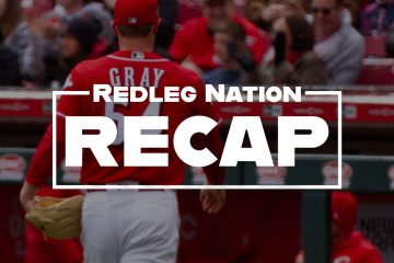Redleg Nation Recap Sonny Gray