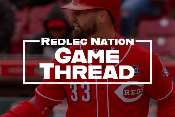 Redleg Nation Game Thread Jesse Winker