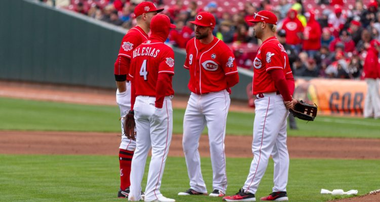 Cincinnati Reds infield Jose Peraza (Photo: Doug Gray)