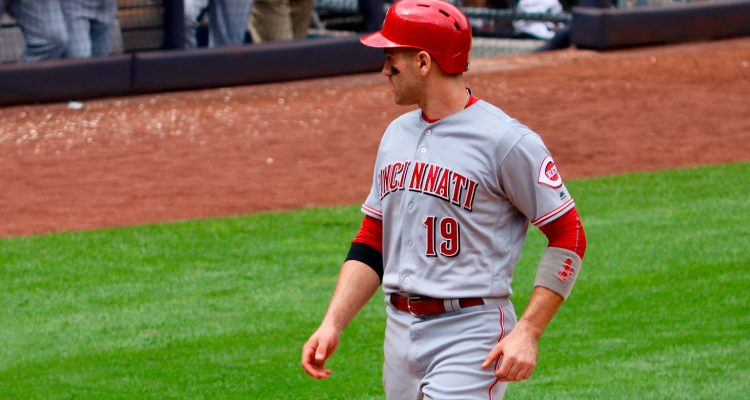 Joey Votto (Photo: Chad Dotson)
