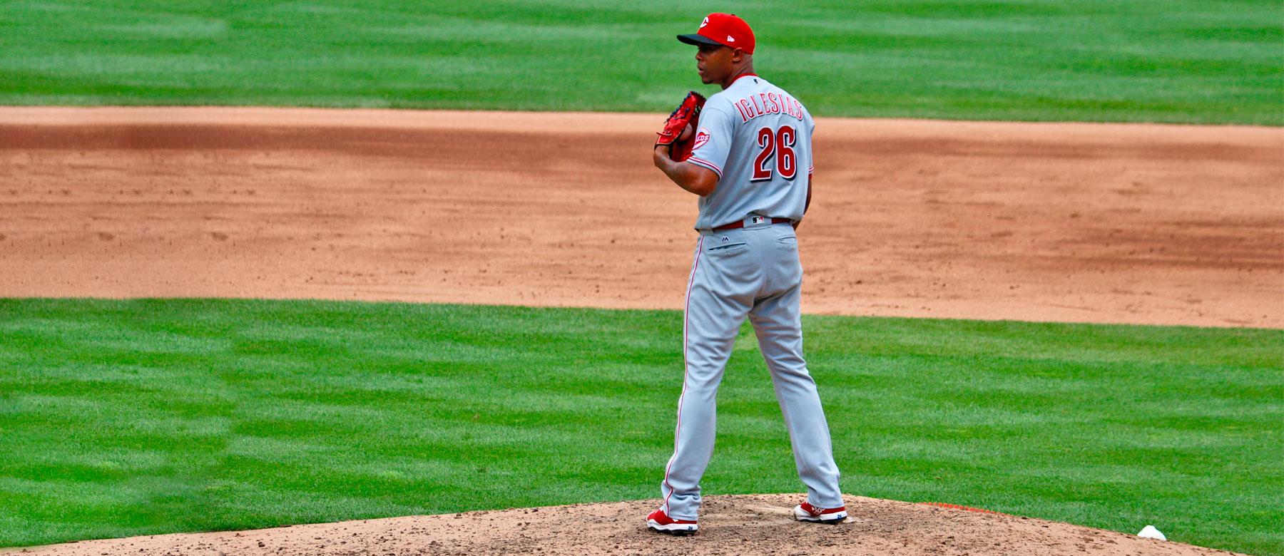 Aristedes Aquino Louisville Bats Baseball Trading Card Cincinnati Reds Rare 2019
