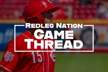 Redleg Nation Game Thread Nick Senzel