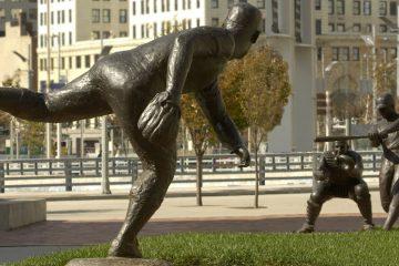 Joe Nuxhall Statue