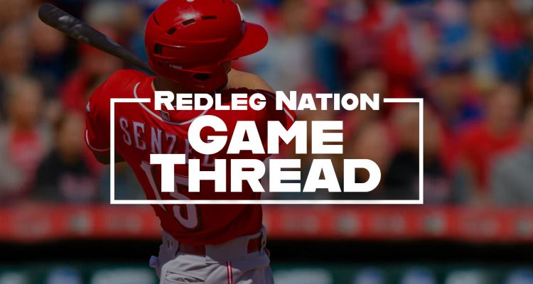 Redleg Nation Game Thread Nick Senzel