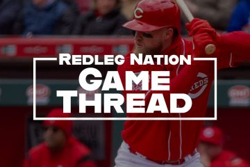 Redleg Nation Game Thread Tucker Barnhart