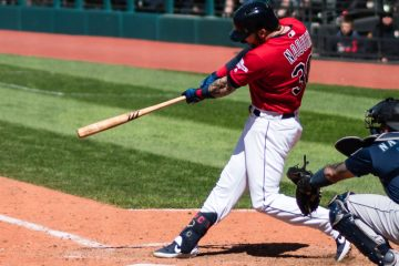 Tyler Naquin (Photo: Erik Drost)
