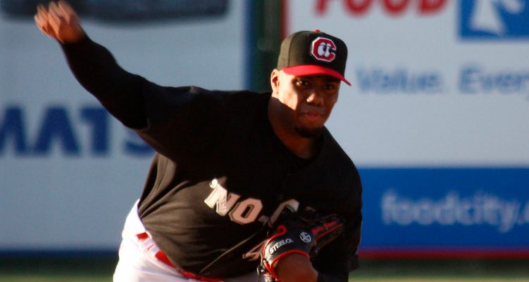 Hunter Greene (Photo: John Bradford/Provided by the Chattanooga Lookouts)