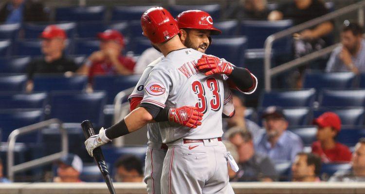 Jesse Winker and Eugenio Suarez (Photo: All-Pro Reels/Flickr)